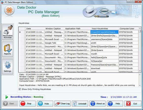 Spy Monitoring Software